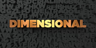 - Texto do ouro no fundo preto - 3D dimensional rendeu a imagem conservada em estoque livre dos direitos ilustração royalty free