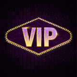 Texto do VIP da pessoa muito importante Foto de Stock