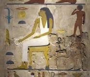 Texto dos Hieroglyphs Foto de Stock Royalty Free