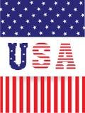 Texto elegante para la celebración americana de presidentes Day Foto de archivo libre de regalías