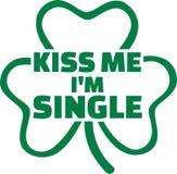 Texto engraçado do dia do ` s de St Patrick do partido ilustração stock
