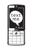 Texto mim Imagens de Stock