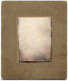 Texto presionado marco de papel de la foto Imágenes de archivo libres de regalías