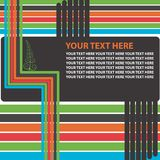 Texto retro Foto de archivo libre de regalías