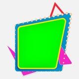 Textram vektor illustrationer