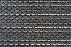 Textrue van het oude Koelpaneel van de aluminiumvin van luchtcompressor of royalty-vrije stock foto