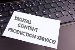 Texttecken som visar Digital nöjd produktionservice Nya vägar för begreppsmässigt foto av att marknadsföra som annonserar royaltyfri fotografi