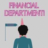 Texttecken som visar finansiell avdelning E stock illustrationer