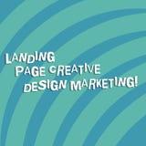 Texttecken som visar landa sidan idérik designmarknadsföring Begreppsmässig fotoHomepage som annonserar socialt massmedia, inkvar royaltyfria foton