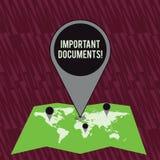 Texttecken som visar viktiga dokument Begreppsmässigt foto mer officiella stycken av papper med handstil på dem färgrikt enormt stock illustrationer