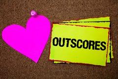 Textteckenvisningen Outscores Den begreppsmässiga fotoställningen mer punkt än andra undersökningsprov som kör hälsovård, gränsar arkivbild