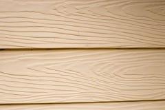 Textture di legno della parete sulla casa Fotografia Stock