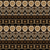 Textu floral d'éléments de modèle d'arabesque sans couture oriental de damassé Photo stock