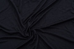 Textue nero del tessuto Fotografia Stock Libera da Diritti