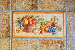 Textur керамической плитки Стоковые Фото