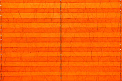 Textur av apelsinpappersskuggor för fönster Fotografering för Bildbyråer