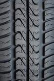 Textur av auto gummihjul Royaltyfria Bilder