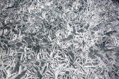 Textur av is av Baikal i vinter Royaltyfri Fotografi