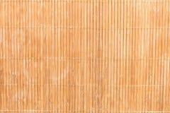 Textur av bambuservetten Naturlig bakgrund av bambu royaltyfri fotografi