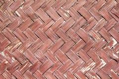 Textur av bambuväv Fotografering för Bildbyråer