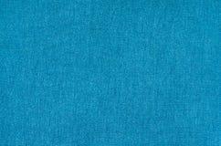 Textur av blått syntetiskt tyg Högbakgrundsbild royaltyfria foton