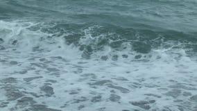 Textur av Black Sea vatten arkivfilmer