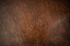 Textur av brunt trä Royaltyfri Foto
