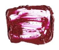 Textur av bruten röd läppstift Royaltyfri Bild