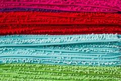 Textur av dörrmattan eller matta Arkivfoton
