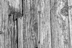 Textur av de gamla murkna träbrädena Arkivfoton