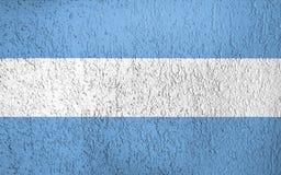 Textur av den Argentina flaggan stock illustrationer