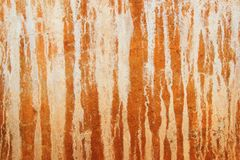 Textur av den bruna cementväggen Royaltyfri Fotografi