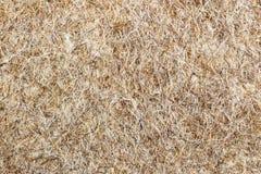 Textur av den bruna filtcloseupen Naturlig ullbakgrund Arkivfoto
