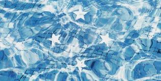 Textur av den Federated States of Micronesia flaggan arkivfoto