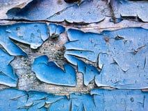 Textur av den gamla blåttmålarfärgen Royaltyfri Bild