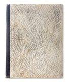 Textur av den gamla boken arkivbilder