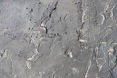 Textur av den gamla gr?a betongv?ggen f?r bakgrund royaltyfria foton