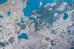 Textur av den gamla sjaskiga väggen Arkivfoton