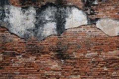 Textur av den gamla väggen för röd tegelsten Royaltyfri Foto