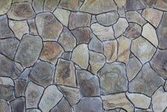 Textur av den gammala rockväggen för bakgrund Arkivbild