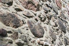 Textur av den gammala rockväggen för bakgrund Royaltyfri Fotografi