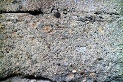 Textur av den grova gamla väggen Arkivfoto