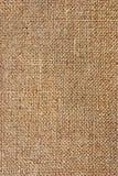 Textur av den grova torkduken, säckväv Arkivfoto