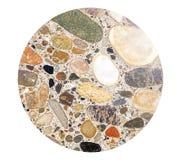 Textur av den konkreta stenväggen Arkivfoto