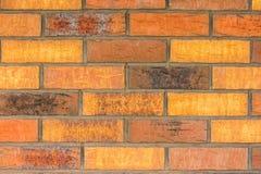 Textur av den röda och bruna tegelstenväggen Royaltyfria Foton