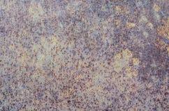Textur av den rostiga ramen för metall över huvud taget arkivfoto