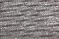 Textur av det belade med tegel taket Arkivbild