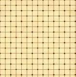 Textur av det gamla papperet med den geometriska dekorativa modellen Royaltyfri Fotografi