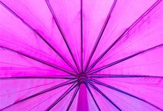 Textur av det purpura paraplyet Arkivfoto