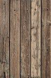 Textur av det red ut bruna trästaketet Royaltyfri Fotografi